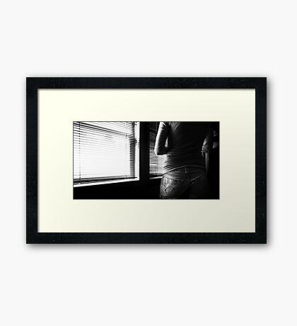 Stolen Moments Framed Print