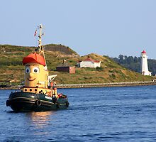 Theodore Tugboat by HALIFAXPHOTO