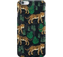 Safari Tiger Pattern by Andrea Lauren iPhone Case/Skin