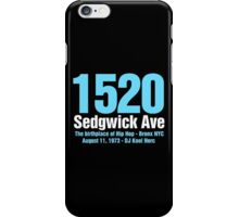 The Birthplace of Hip Hop iPhone Case/Skin