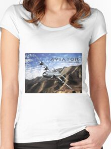 C-130 Hercules Women's Fitted Scoop T-Shirt
