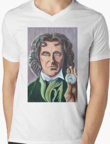 Paul McGann as Doctor Eight Mens V-Neck T-Shirt