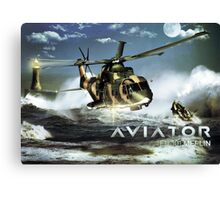 EH-101 Merlin Helicopter Canvas Print