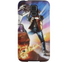 Back To The Future -Ink n Painted Samsung Galaxy Case/Skin