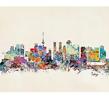 Tokyo skyline Photographic Print