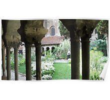 Beautiful cloister Poster