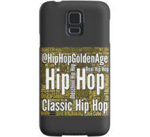 Real Hip Hop Word Cloud Art Samsung Galaxy Case/Skin