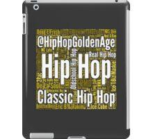 Real Hip Hop Word Cloud Art iPad Case/Skin