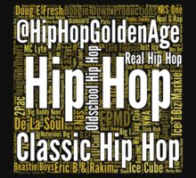 Real Hip Hop Word Cloud Art Kids Clothes