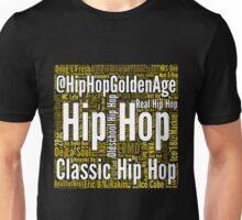 Real Hip Hop Word Cloud Art Unisex T-Shirt