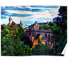 Bridge to Luxembourg Poster