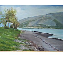 Loch Linnhe at Fort William Scotland Photographic Print