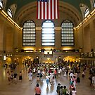 Grand Central Main Concourse by Louis Galli