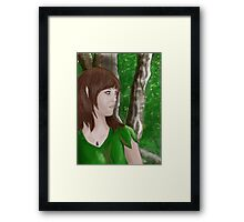 Of The Forest Framed Print