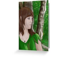 Of The Forest Greeting Card