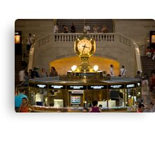 Grand Central Information Booth Canvas Print