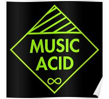 Music Acid Poster