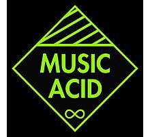 Music Acid Photographic Print