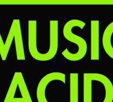 Music Acid Sticker