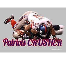 Patriots Crusher Photographic Print