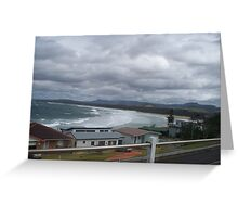 7 Mile beach Gerroa Greeting Card