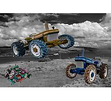 Tractor Wars  Photographic Print