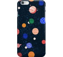 Cosmic Planets by Andrea Lauren iPhone Case/Skin