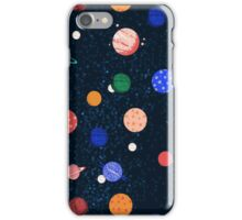 Cosmic Planets by Andrea Lauren iPhone Case/Skin