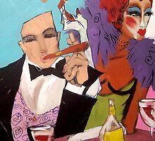 The Nightclub by Cordell Cordaro