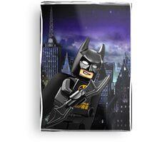 "Lego Batman ""Relax everybody I'm here"" Metal Print"
