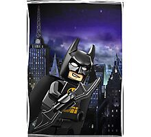 "Lego Batman ""Relax everybody I'm here"" Photographic Print"