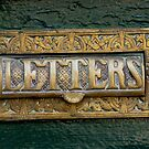Old Letter Box by gothgirl
