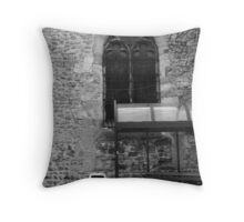 A missing link ?  Throw Pillow
