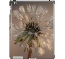 Icey dew drops iPad Case/Skin