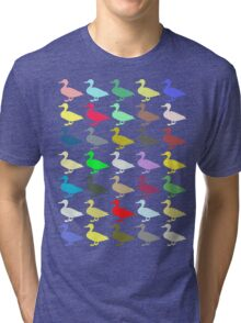 Ducks On Acid Tri-blend T-Shirt