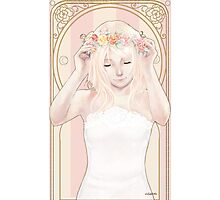 Rose Maiden Photographic Print
