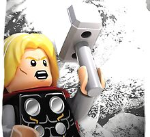 Lego Thor by steinbock