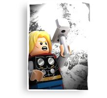 Lego Thor Canvas Print