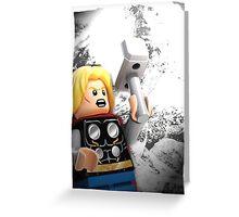 Lego Thor Greeting Card