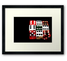 Six by 6 X 6 Framed Print