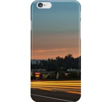 Street Scene at Sunrise iPhone Case/Skin