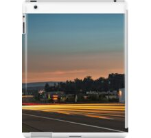Street Scene at Sunrise iPad Case/Skin