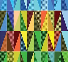 Abstract triangles by AnnArtshock