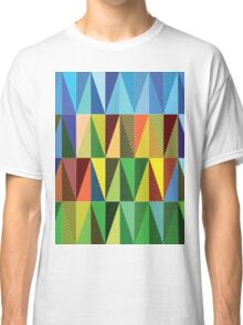 Abstract triangles Classic T-Shirt