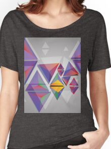 Abstract triangles 3 Women's Relaxed Fit T-Shirt