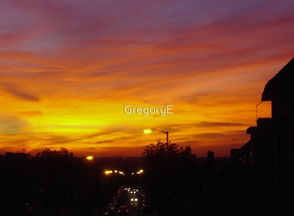 Orange Blaze by GregoryE