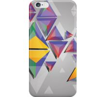 Abstract triangles 4 iPhone Case/Skin