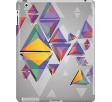Abstract triangles 4 iPad Case/Skin
