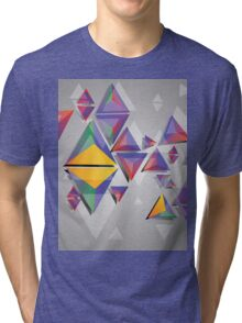 Abstract triangles 4 Tri-blend T-Shirt