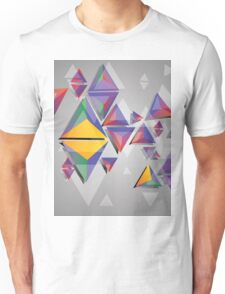 Abstract triangles 4 Unisex T-Shirt